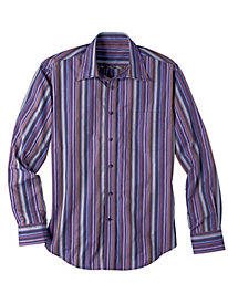 Men's Purple Stripe Shirt