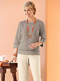 Women's Look of Linen Top