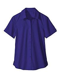 Women's Foxcroft Short-Sleeved Shirt