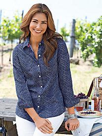 Women's Foxcroft Lotta Dot Shirt