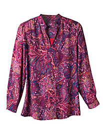 Women's Blaze 'O Paisley Tunic Top