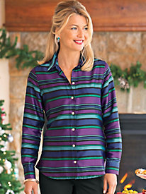 Women's Striped Foxcroft Shirt
