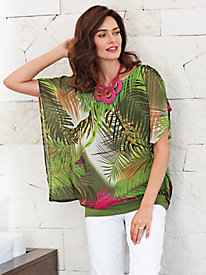 Women's Twice The Paradise Layered Top
