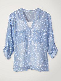 Women's Polka Dot Shirt