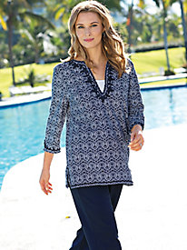 Women's Casablanca Blue Tunic