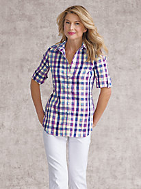 Women's Paisley or Plaid Utility Shirt