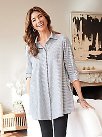 Women's Ashlyn Pinstripe Tunic
