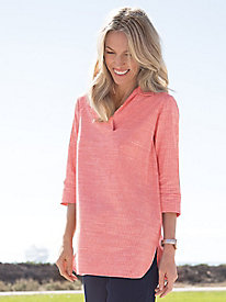 Women's Spring Fresh Striped Tunic