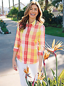 Foxcroft Buffalo Plaid Outfit