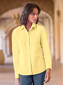 Women's No-iron, Pure Cotton Foxcroft Shirt