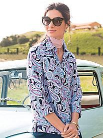 Women's Foxcroft Parisian Paisley Shirt