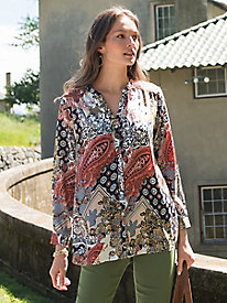 Women's Medallion Paisley Tunic