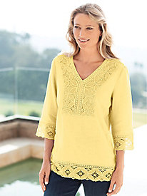 Women's Petals & Lace Top