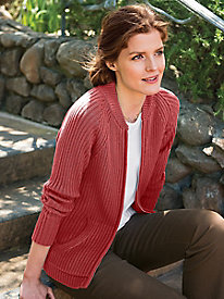 Women's Baseball Cardigan