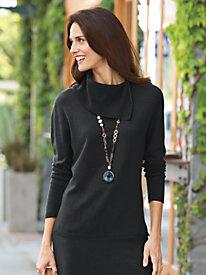 Women's Soft Landings Asymmetrical Cowlneck Sweater