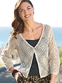 Women's Crochet Cardigan