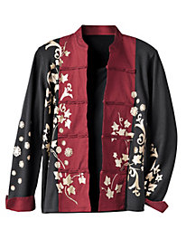 Women's Plum Blossom Sweater Jacket