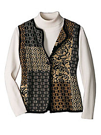 Women's Regalia Patchwork Vest