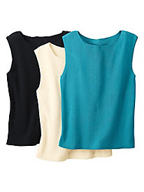 Women's Silk/Cotton Knit Tank
