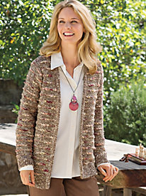 Women's Boucl Cardigan...