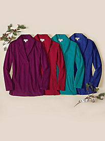 Women's Bliss Fleece Tunic Top