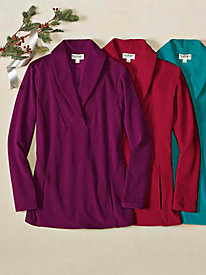 Women's Bliss Fleece Tunic Top