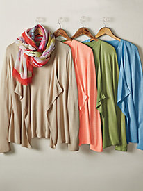 Women's Silky-Knit Cardigan