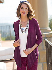 Women's Waterfall Cardi