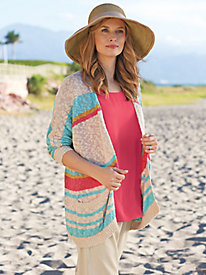 Women's Believe the Stripe Cardigan
