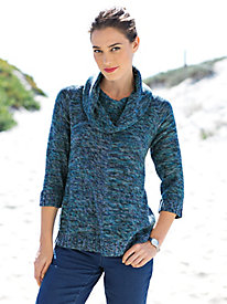 Women's LushLight Cowl Neck Sweater