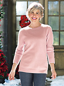 Women's Pure Cashmere Crewneck Sweater