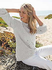 Women's Cable-Stitch Sweater