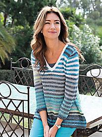 Women's Sun-Kissed Stripes Sweater