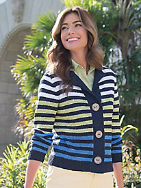 Women's Bodacious Stripes Cardigan