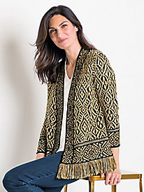 Women's Multi-Stitch Cardigan