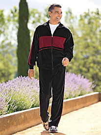 Men's Monsieur Velour Warm-Ups
