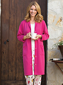 Women's Snap-Front Robe