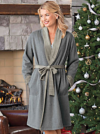 Women's Huggy-Bear Wrap Robe