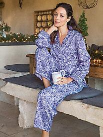 Women's Miss Elaine Floral Tile Pajama Set