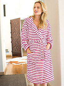 Women's Joules Rita Hooded Striped Robe