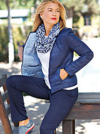 Women's Reversible Travel-Ready Jacket