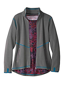 Women's Zip Front Butterfleece Jacket