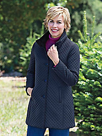 Women's Portland Quilted Overcoat