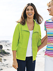 Women's Fresh Takes Eyelet Jacket