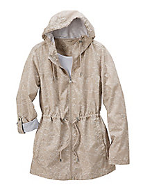 Women's Cute Parka-In-a-Pocket