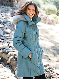 Women's Anne Klein Down Parka