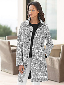 Women's Paisley Reversible Jacket
