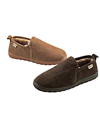 Men's Suede & Shearling Slippers