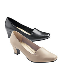 Women's Classic Leather Pumps
