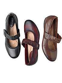 Leather Mary Janes by Earth
